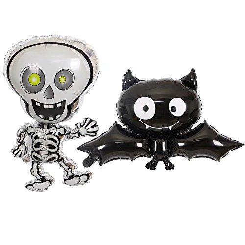 Bello Luna Aufblasbare Schläger und Skelett Halloween Stütze Dekorationen-2 - Halloween Bella Luna