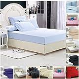 Vertikal Waffel Streifen Zartes Rosa Baumwollmischung Einzelbett Bettbezug HöChste Bequemlichkeit Bettwaren, -wäsche & Matratzen