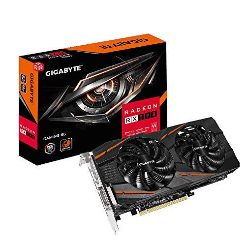 Foto Gigabyte GV-RX590GAMING-8GD scheda video Radeon RX 590 8 GB GDDR5