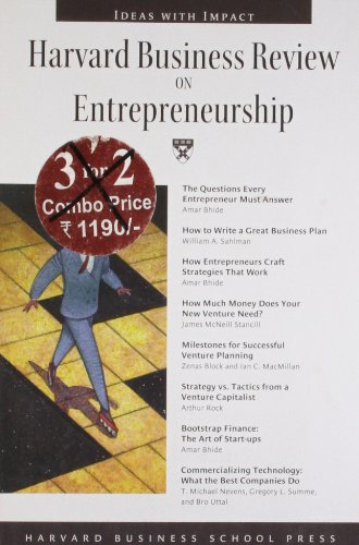 Harvard Business Review on Entrepreneurship (Harvard Business Review Paperback)