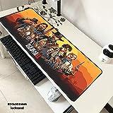 Die besten Günstigste Laptops - LJA Red Dead Redemption 2 Mauspad 80x30cm Pad Bewertungen