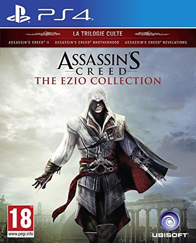 Assassins Playstation 2 Creed 3 (Assassin's Creed, The Ezio Collection  PS4)