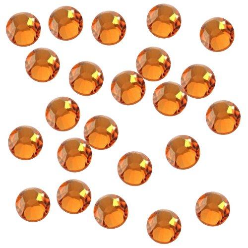 Genie Orange Kostüm - Strasssteine Genie Verzierung Hot Fix Strasssteine 10ss (3mm) Sun