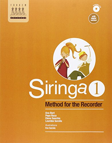 Siringa 1. Method for the recorder - 9788415554141 por Ana Bort Bono