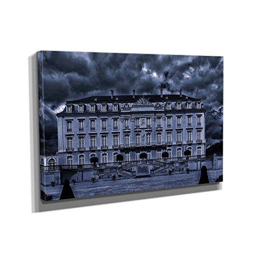 barockschloss-kunstdruck-auf-leinwand-30x45-cm-zum-verschnern-ihrer-wohnung-verschiedene-formate-auf