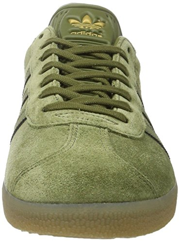 adidas Gazelle, Bottes Classiques Homme Vert (Olive Cargo /olive Cargo /gum4)
