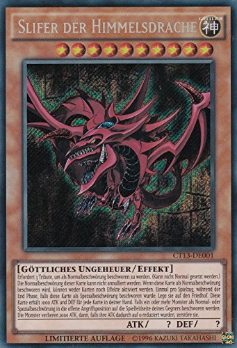 CT13-DE001 - Slifer der Himmelsdrache - Secret Rare - Yu-Gi-Oh - Deutsch - Limitierte Auflage