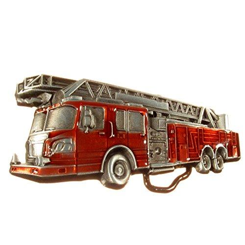 Buckle Feuerwehr, Löschzug, Firefighter, - Firefighter Gürtelschnalle