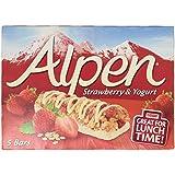 Alpen Breakfast Bars Strawberry Yogurt, 5 x 29g