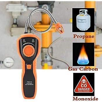Portable méthane propane COMBUSTIBLE GPL naturel Multi Fuite de Gaz Renifleur Détecteur