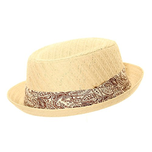 Express Hats Herren Pork Pie-Hut, gelb