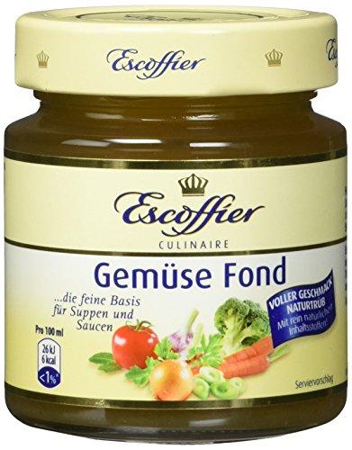 Escoffier Gemuese-Fond, 3er Pack (3 x 200 ml)