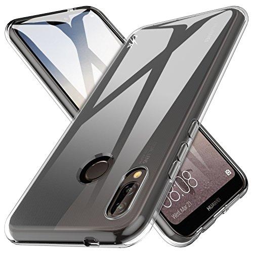 Huawei P20 Lite / Huawei Nova 3e Hülle, LK Ultra Schlank Dünn TPU Gel Gummi Weiche Haut Silikon Anti-Kratzer Schutzhülle Abdeckung Case Cover für Huawei P11 Lite / Huawei P20 Lite (Transparent)
