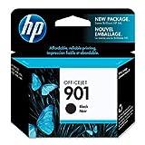 HP – 901 Officejet Tintenpatrone, schwarz, 15 bis 32 °C, 30g