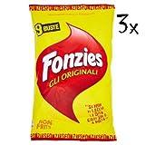 27x Fonzies mais Maissnack mit Käse chips 3 für 9 Portionstüten á 23g Käsechip