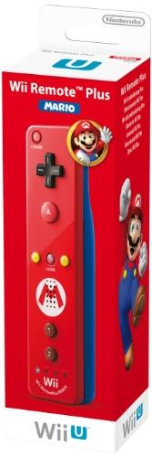 Nintendo Wii U und Wii - Remote Plus, rotes Mario Design Wii U Fernbedienung