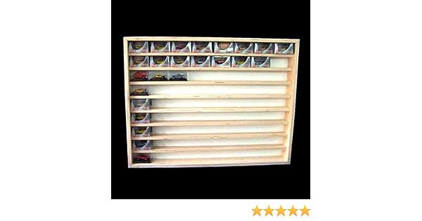 80 x 30 x 8,5 Alsino Vitrine murale V80.3a Vitrine de collection avec voie H0 /& N /étag/ère 80 cm 3 niveaux avec rainures