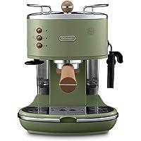 De'Longhi Icona Vintage ECOV311.GR Macchina da Caffè Espresso Manuale e Cappuccino, Caffè in Polvere o in Cialde E.S.E…