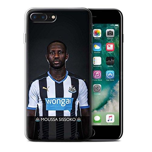 Officiel Newcastle United FC Coque / Etui Gel TPU pour Apple iPhone 7 Plus / Haïdara Design / NUFC Joueur Football 15/16 Collection Sissoko