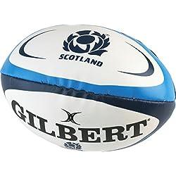 Gilbert Ballon éponge de Rugby Unisexe Écosse Multicolore Taille Unique
