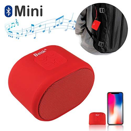 Beisk Mini Altavoz Bluetooth Portatiles 8-10 Horas