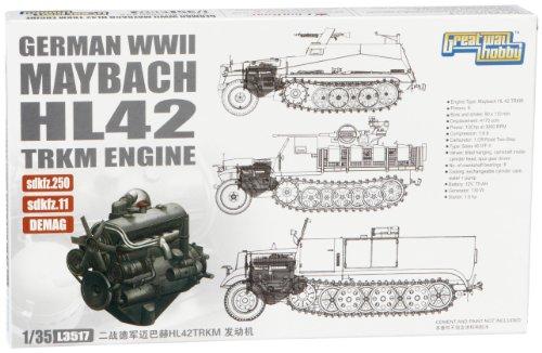 lion-roar-wwii-german-maybach-hl42-tukrm-l3517-model-engine-for-sd-kfz-250