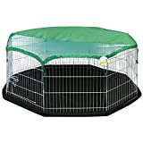 Me & My Pets Medium Playpen, Floor Mat & Sun Cover