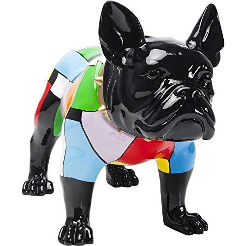 Kare Design Déco Chien Bulldog Colore 60cm