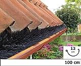 Dachrinnenbürste speziell für Kupferdachrinnen, 1 Meter Ø 12cm, direkt vom Hersteller