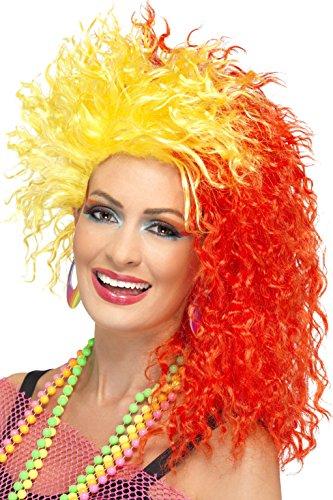 80s Fun Girl Cyndi Lauper Flame Hair WIg