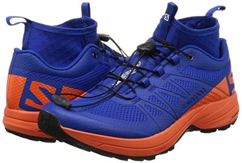 Salomon XA Enduro chaussures trail Surf The Web/Flame/Black