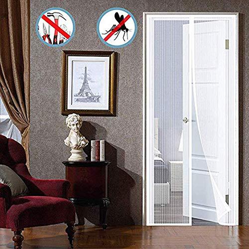 HXPH magnet fly gate door balcony protector, flying curtain Velcro  self-adhesive, mosquito net magnetic, various sizes, patio door balcony  door -