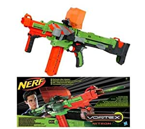 hasbro pistole nerf vortex nitron 2 jahre garantie elektronik. Black Bedroom Furniture Sets. Home Design Ideas