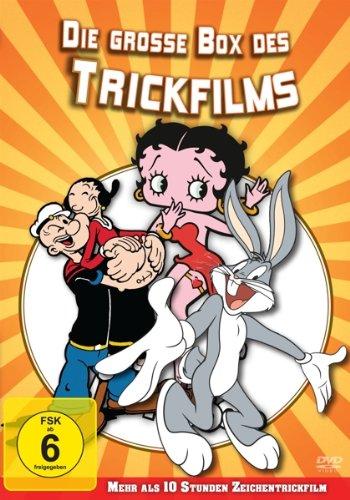 Die große Box des Trickfilms [Limited Edition] (Popeyes Dvd)