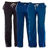 KimKarter Men's Cotton Track Pants Pack of 3