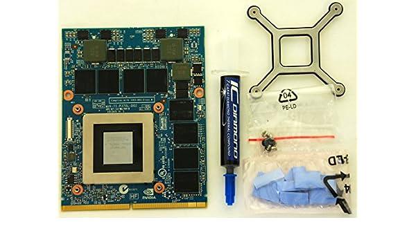 4 GB NVIDIA GeForce GTX 780 m kit di aggiornamento per