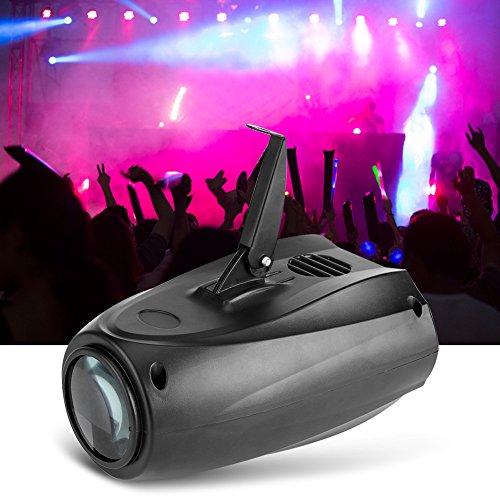 Lampe Bühne Projektor, 10 W LED Licht Beleuchtung Abend Projektor Spot Kontrolle Soundtrack für Bar Hotels DJ Disco Club Party Licht-Atmosphäre -