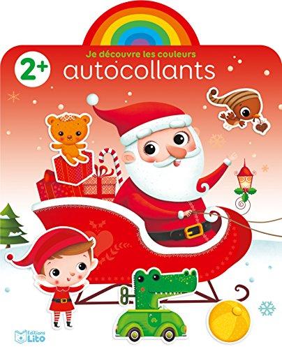 Autocollants Arc-en-ciel: Joyeux Noël ! - Dès 2 ans