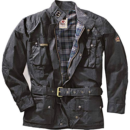 SCIPPIS, Cruiser Jacket, schwarz, XL