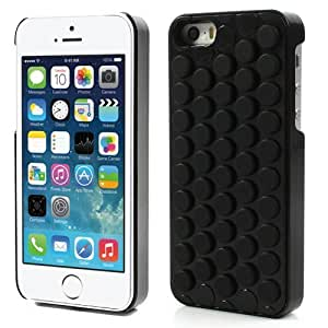 outlet store a927f 673a2 3D Bubble Wrap Design Can Pop Soft PC Phone Case Cover For iPhone For  iPhone 5 5S Black