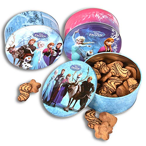 HSM 3 x Disney Frozen Keksdose die Eiskönigin Plätzchendose Gebäckdose Blechdose