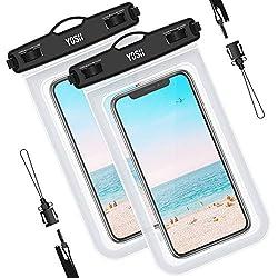 ad8a04593fb4 YOSH vízálló telefon tok táska (2 darab) snorkeling úszás búvárkodás kenu víz  alatti Samsung