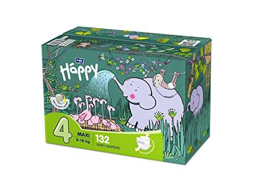 Bella Baby Happy Windeln Maxi Größe 4 (8-18 kg), 132 Stück