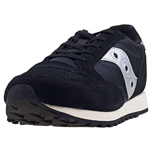 Sneaker Saucony Saucony Jazz Original Vintage Ninos Zapatillas Black Silver - 2.5 UK