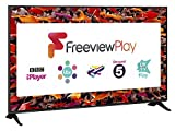 Panasonic TX-49FX600B 49-Inch Ultra HD 1600Hz 4K HDR Smart LED TV with Freeview Play - Black (2018 Model) [Energy Class A]