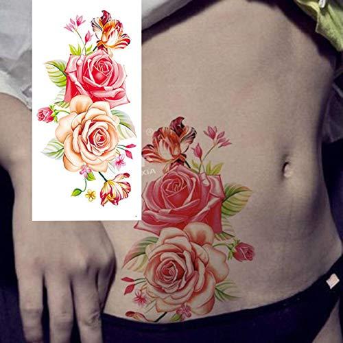 7pcs el brazo tatuaje falso tatuaje caliente metálica impermeable hombro barato del tatuaje