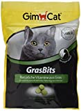 GimCat GrasBits – Cat Treats with Vitamins, Minerals, Amino Acids and Trace Elements – 1 x 140g pouch