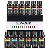 Aceites Esenciales, 12 Aceites Set 100% Puros y Naturales Aromaterapia...