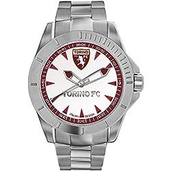 Torino Calcio Herren -Armbanduhr Quarz Edelstahl T7366UWR