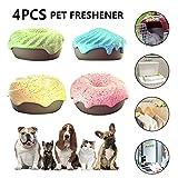 Deodorante per animali domestici 4 pezzi per casa, decorazione purificante dell'aria carina - Rimozione dell'odore per gabbia per cani, lettiera per gatti, guardaroba, scarpiera, auto, ufficio